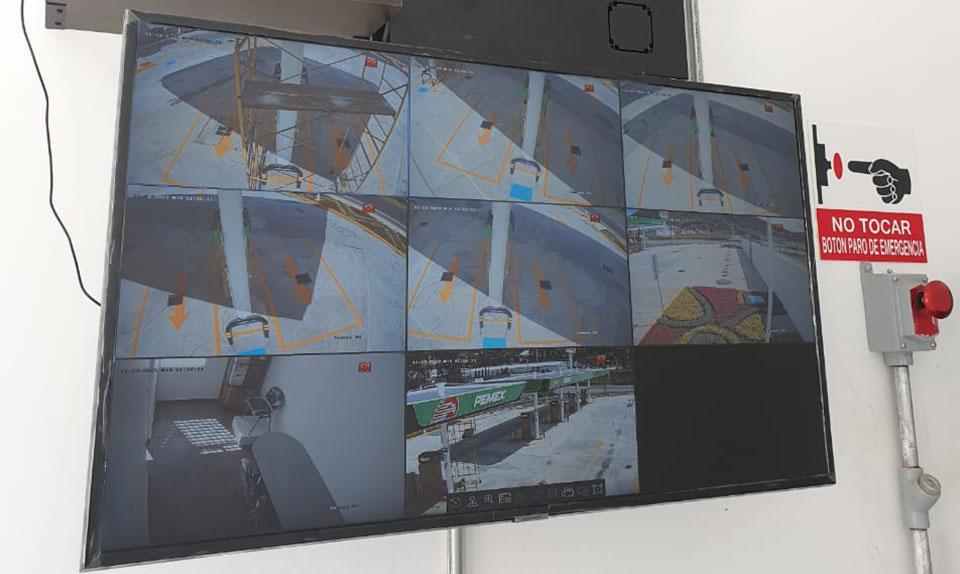 Instalación de camaras de seguridad en Acambay