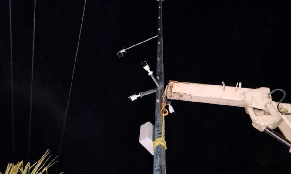 Instalación de cámaras de seguridad en Joquicingo